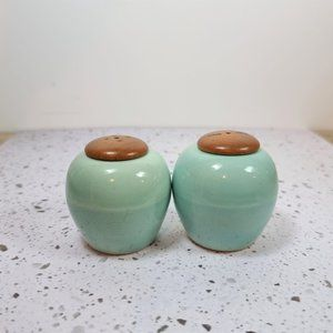 Mid Century Modern Swedish Celadon Green Shakers